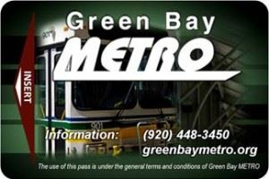 Bus Pass for Green Bay Metro